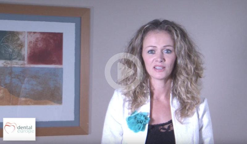 Katalin Ripp, die Geschäftsführerin über ihre Firma, Dental Europe