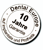 Dental Europe Garantie